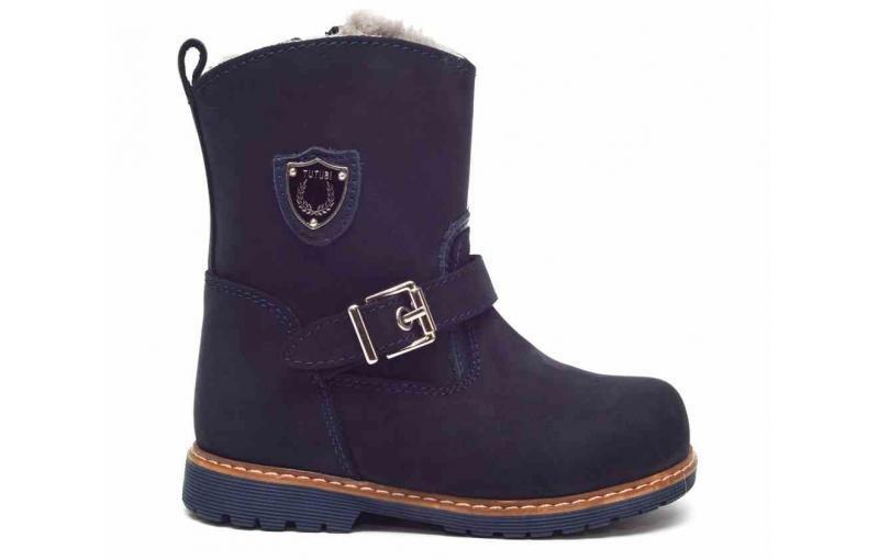 Зимние ботинки для девочек и мальчиков Tutubi 3019 (08)