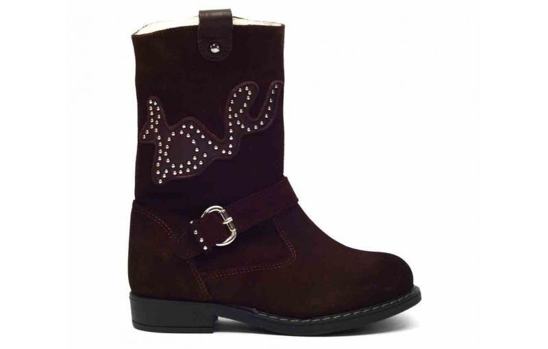 Зимние ботинки для девочек Tiflani 07F 6420К (14)