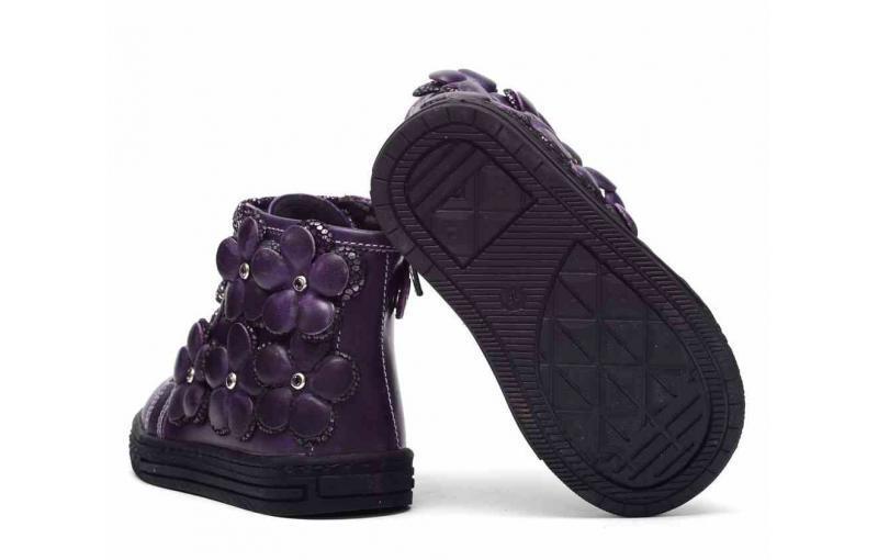 Демісезонні чобітки для дівчаток 665-42-5В