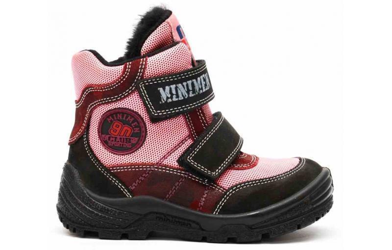Зимние ботинки для девочек. Minimen. Турция 5008-66-5В (5008-11)