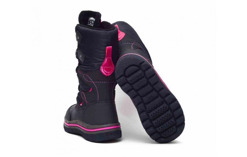 Термоботинки для девочек. Geox. Италия J 540 FB