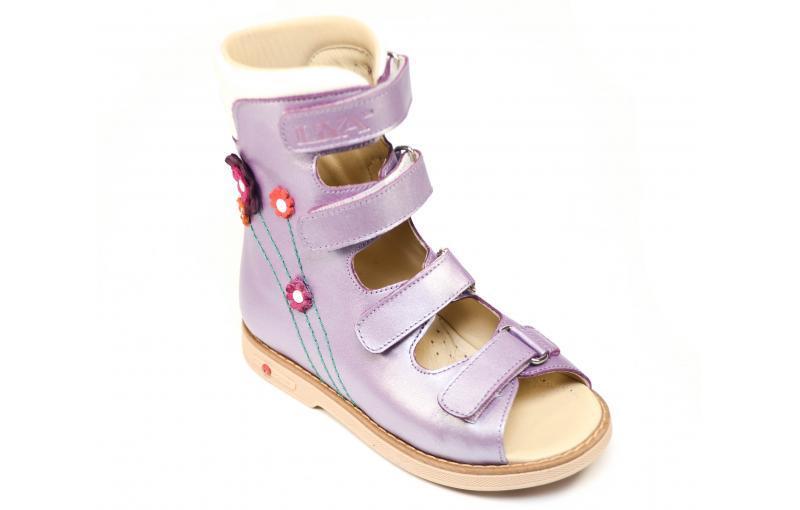 Сандалі ортопедичні для дівчинки L.I.Y.A 001 250 PTK 034-032