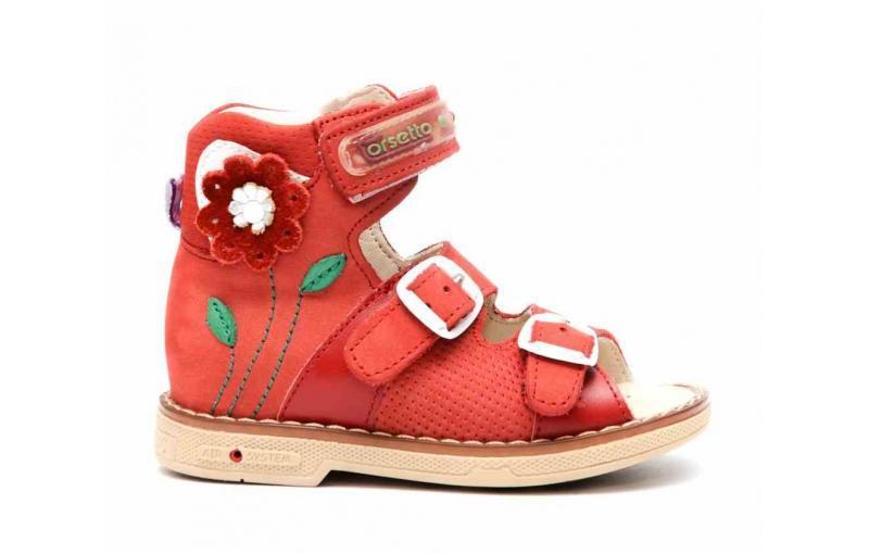 Ортопедичні сандалі для дівчат. Tofino. Туреччина 238-90