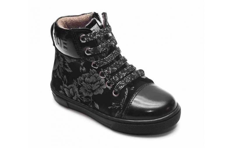 Демісезонні черевики  для дівчаток з принтом Tutubi Tutubi 3021 (02)